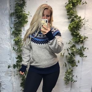 Woolrich Nordic Fair Isle Sweater M